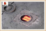 Ladrillo sólido que hace con el horno de Hoffmann (24 compartimientos)