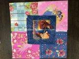 El plegable e impresión multi avanzados de los colores y fabricante de la máquina del tejido de la servilleta que graba