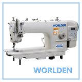 Wd-9910-D4 Máquina de coser de alta velocidad de punto de puntada de transmisión directa con Auto-Trimmer
