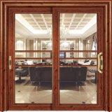 La Chine a exporté Cheap insonorisées Grange portes coulissantes en verre de l'intérieur