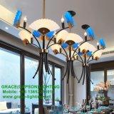 Neues Entwurfs-Cer-anerkannte Gaststätte-Lichter, die Ventilator-Leuchter (GD-7435-3, falten)