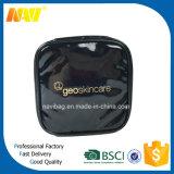 Черный глянцеватый мешок состава PVC кожаный косметический