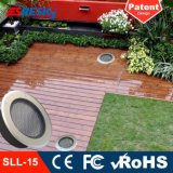 Quadrat-dekoratives Landschaftslicht-Solartiefbaulicht des Garten-IP68 für Verkauf