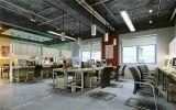 Estructura de acero para el uso temporal de la oficina