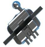 Orthodontique Self Ligating Mbt Bracket of Passive System Standard 0.022 avec Hook on 3, 4, 5