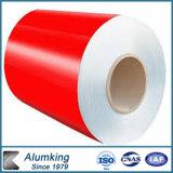 Цвет строительных материалов Jinhu покрыл алюминиевые катушки/выбитые алюминиевые катушки толя