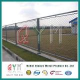 가정 정원 체인 연결 Fence/PVC는 최신 담궈진 직류 전기를 통한 체인 연결 담을 입혔다