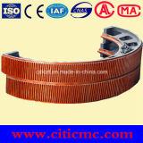 Medio engranaje de la circunferencia de Gear&Mill de la circunferencia del horno rotatorio