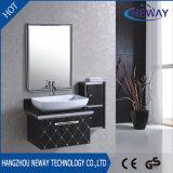 シンプルな設計の鋼鉄未完成の浴室の虚栄心