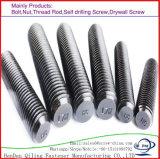 Pleine barre DIN975 d'amorçage d'amorçage de M24 M27 M30 M33 Ss316 A4-70