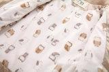 バイアステープジッパーの冬のかわいい赤ん坊の衣服