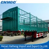3半3つの車軸棒の貨物トレーラー