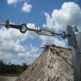Tenditore a vite della fune del acciaio al carbonio di alta qualità