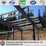 Atelier en acier préfabriqué de construction avec la mezzanine
