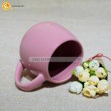 Taza de cerámica respetuosa del medio ambiente para el té de consumición