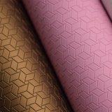 Couro sintético do plutônio do revestimento protetor não tecido de Spunlace para a sapata de empacotamento decorativa