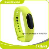 Het waterdichte Horloge van Bluetooth van de Geschiktheid van de Calorie van de Armband van de Meting van de Afstand van de Pedometer Slimme Brandende