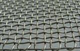 Rete metallica unita dell'acciaio inossidabile con il bordo vicino