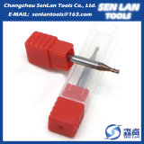 Твердая торцевая фреза карбида HRC45/55/60/65 для режущих инструментов