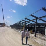 Edificio de marco aislado de la estructura de acero del panel para la aplicación industrial
