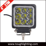 Selbst-LED beleuchtet 4 Zoll quadratische 27W CREE LED Arbeitslampe