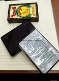 Cartão 100%, cartão de jogo impermeável super plástico do póquer de Eapana dos cartões de jogo do PVC do póquer de Spain plástico do PVC
