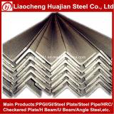 Barra de ángulos de acero laminado en caliente Q235 en anchura igual