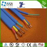 Cable sumergible/cable plano de goma del cable/4 bases de la bomba