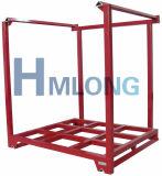Equipamento de aço de empilhamento Foldable da pálete do armazém