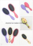 Cojín de ratón ovalada cepillo de pelo