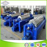 Automático de alta velocidad, los lodos de aguas residuales, aguas residuales un decantador centrifugadora