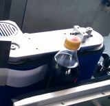 Máquina de etiquetas automática do frasco de vinho