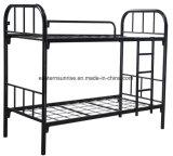 金属の二重二段ベッド大人の金属のまたは鋼鉄軍隊の二段ベッド