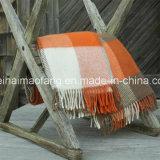 Lance novo tecido de lãs da manta do Virgin puro de lã