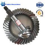 BS6024 10/41 정밀도 금속 트럭 차 기어 후방 드라이브 차축 나선형 나선형 비스듬한 기어