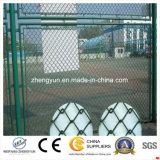 Clôture en fil de chaîne peintée / clôture de chaîne de chaîne de stades en PVC