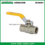 La calidad personalizada de oro forjado con mango de la válvula de bola de graves (IC-1061)