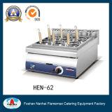 Piano d'appoggio elettrico del fornello della tagliatella dell'acciaio inossidabile (HEN-62)