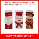 Décoration de Noël (ZY14Y445-1-2-3 25CM) Cadeau de feutrine de Noël présent