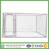 Cage soudée lourde de crabot de frontière de sécurité de maillon de chaîne de treillis métallique