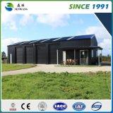 Retrait préfabriqué d'atelier d'entrepôt de construction de structure métallique en Afrique