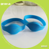 Bracelet de silicium de Wrs05 Nfc, type d'épreuve de l'eau (GYRFID)