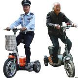 セリウムが付いている電気移動性のスクーターを折る2018の熱い販売3の車輪