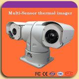 De dubbele Op een voertuig gemonteerde Camera van de Lens PTZ voor Veiligheid