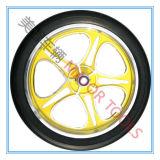 16 Zoll PU-Schaumgummi-Ausflug-Fahrrad-Reifen mit gelber Aluminiumfelge