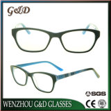 Óculos de acetato de grossista de alta qualidade óptica de óculos armação de óculos