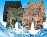 여름 옥외 바지는 적당한 스포츠 느슨한 얇은 바닷가 짧은 바지를 말린다