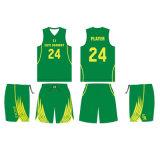 エリートのバスケットボールアカデミーのためのカラーバスケットボールのジャージーのユニフォームをカスタム設計しなさい