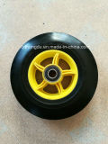 Roda de borracha macia sólida 10X2 de alta qualidade
