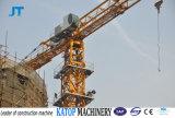 Preço elevado de Configurate da carga de Tc5610 6t guindaste de torre em topless do bom